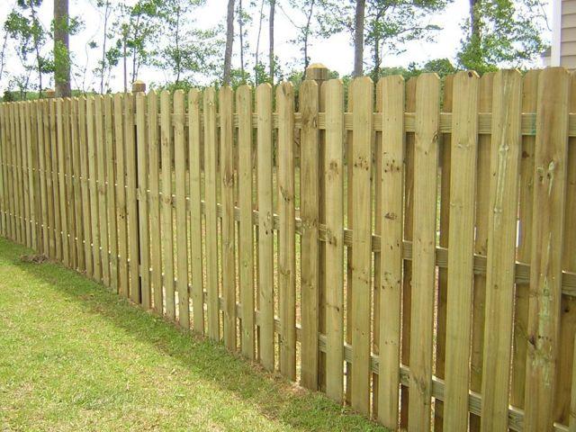 Hit n Miss Garden Fencing