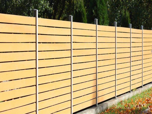 Stockbridge Fencing modern fencing panels