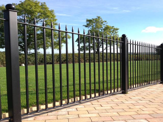 Currie fencing Wrought Iron Fencing Panels